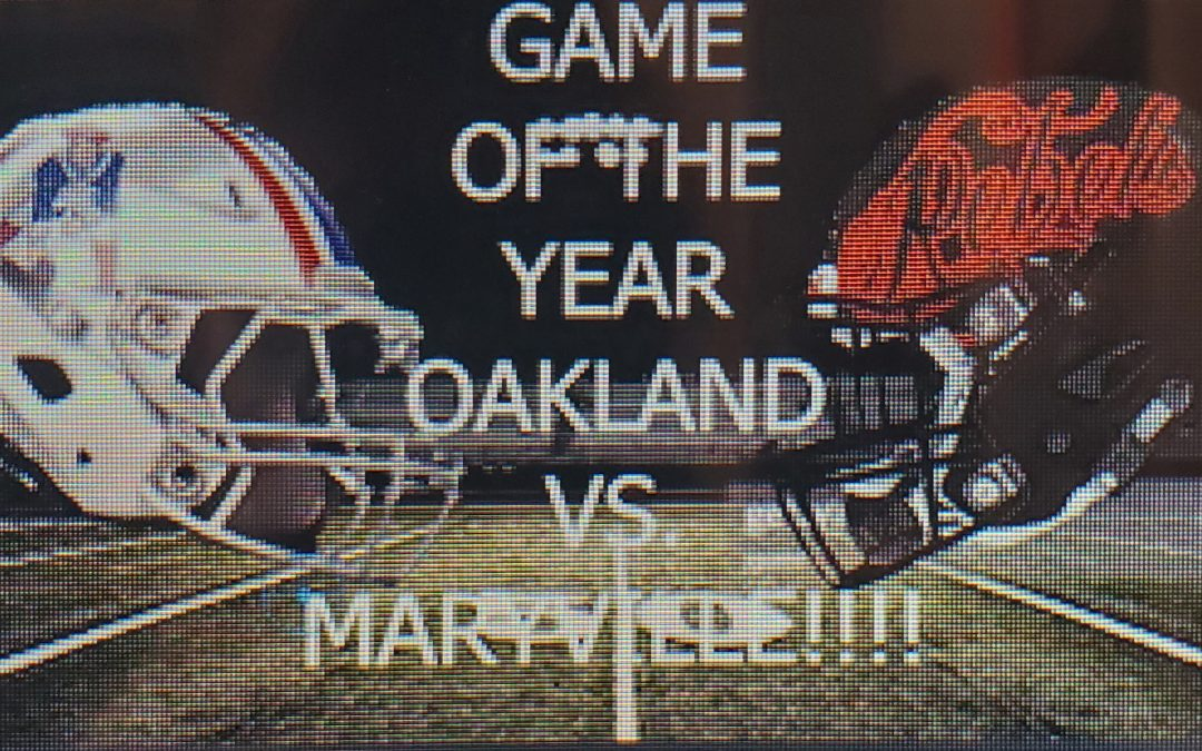 ARTICLE FOR OAKLAND VS. MARYVILLE